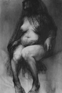 drawing titled Veiled